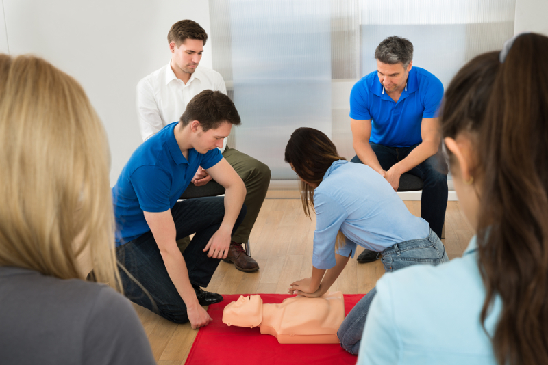 First Aid at Work Courses from LTS